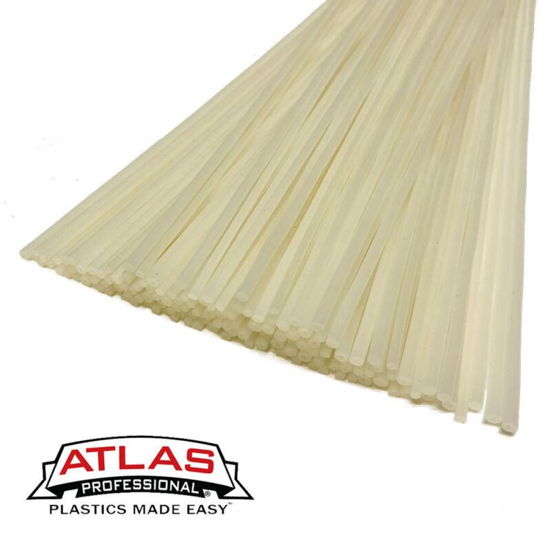 HDPE Polyethylene Plastic Welding Repair Rods-10ft, 10PK (12in x 3mm Natural)