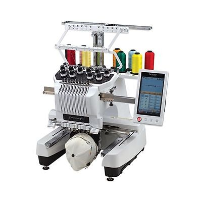 Demo Machine Brother PR1000e ENTREPENEUR 10 Needle Embroidery / Sold As is.