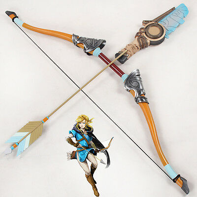 The Legend of Zelda Breath of the Wild Link Bow and Arrows Cosplay Prop