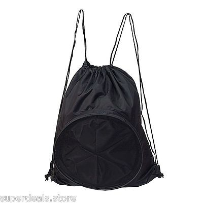 Volleyball Soccer Basketball Sport Backpack Bag - Black