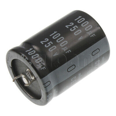 18-01-0730 Snap In Electrolytic Capacitor 250v 1000uf 105c 30x40mm