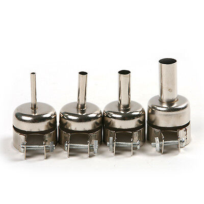 4pcs Soldering Station Nozzle Tips For Hot Air Gun Smd 852d8508d Welding Tool