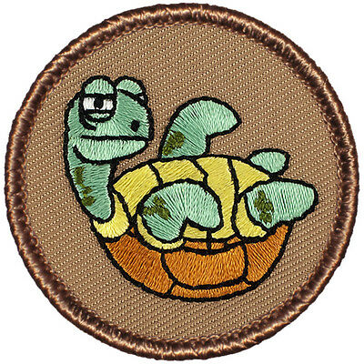 Funny Boy Scout Patches  The Awkward Turtle Patrol    403
