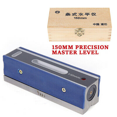 6precision Bar Machinist Level 0.000210accuracy In Wooden Box Carbon Steel