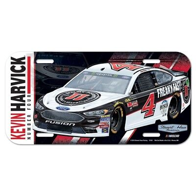 Kevin Harvick 2018 Wincraft  4 Jimmy Johns Poly License Plate Free Ship