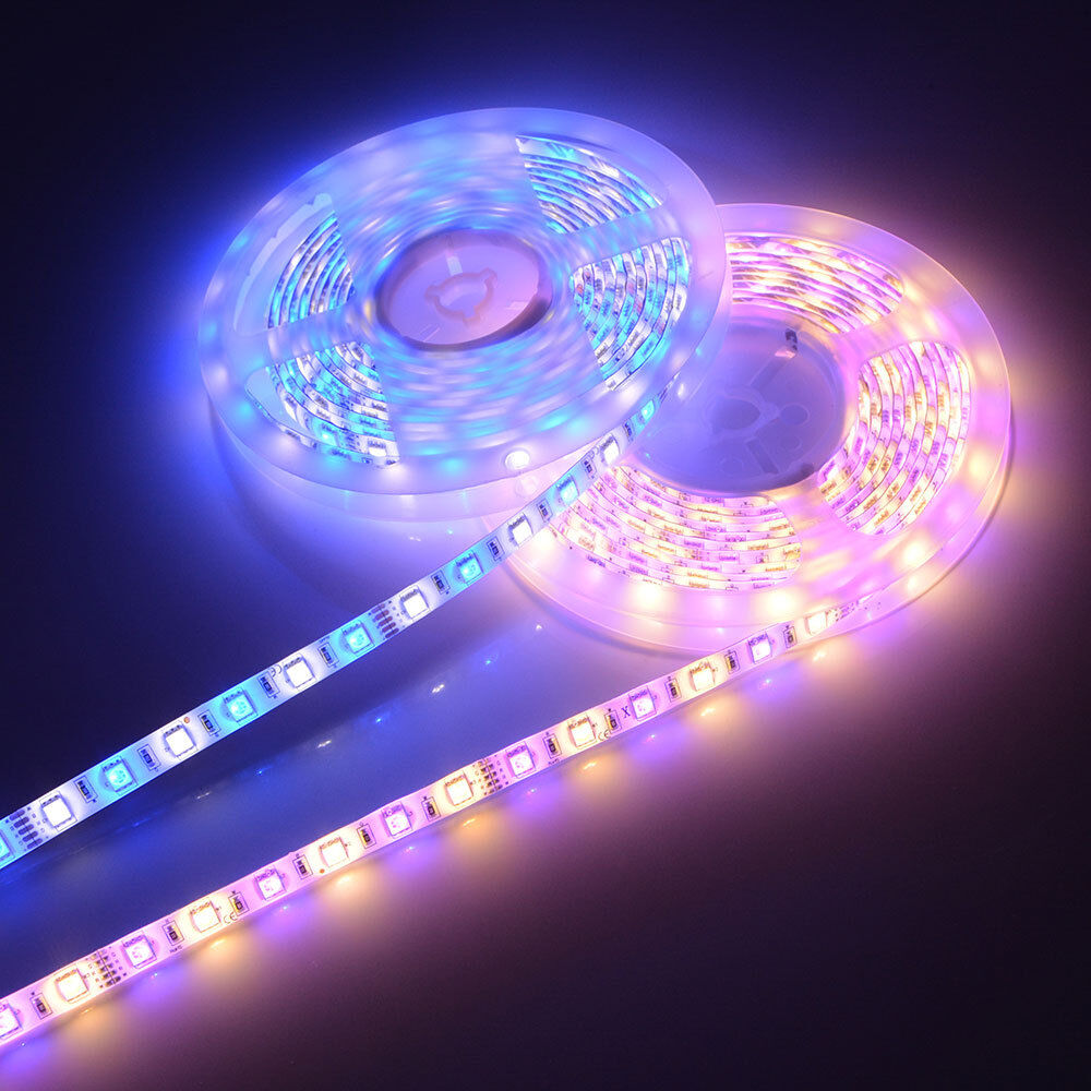 5M SMD 5050 LED Strip light RGBW /WW 12V Waterproof IP20 / I