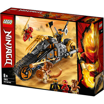 Lego Ninjago Cole's Dirt Bike Building Set - 70672