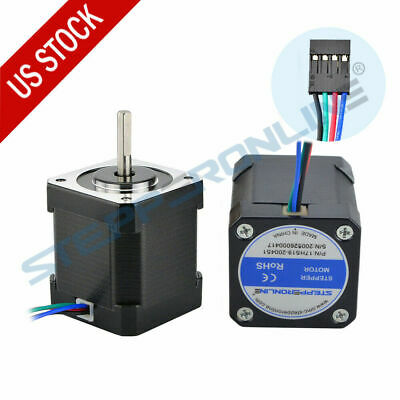 Stepperonline 1x Nema 17 Stepper Motor 59ncm84oz.in 2a 48mm Body 17hs19-2004s1