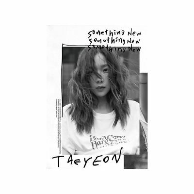 TAEYEON Something New 3rd Mini Album CD+Booklet+PhotoCard KPOP