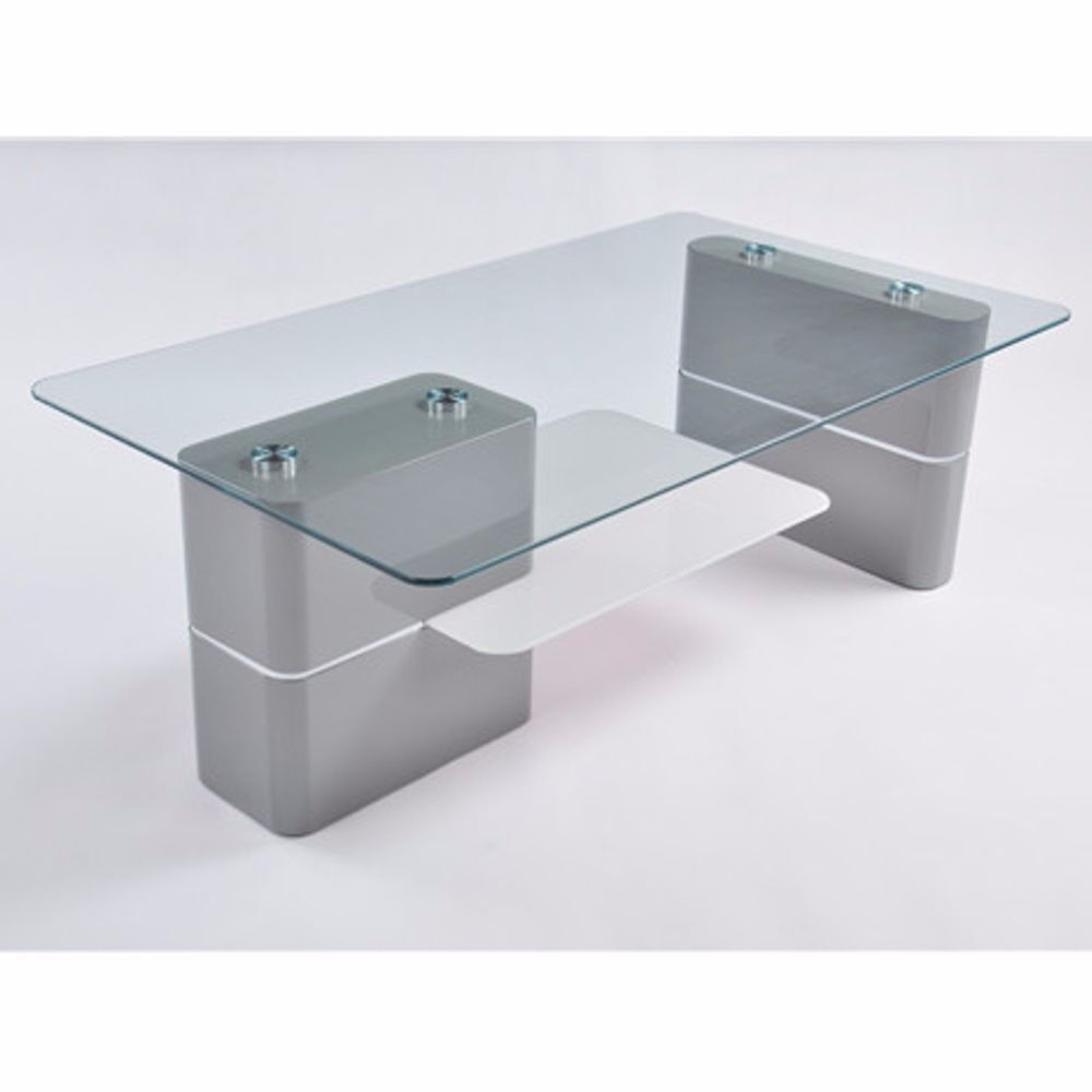 Grey Glass Coffee Table NEW, HIGH QUALITY