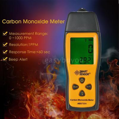 SMART SENSOR Handheld Carbon Monoxide Gas Detector Tester Monitor Lcd Meter T1E2