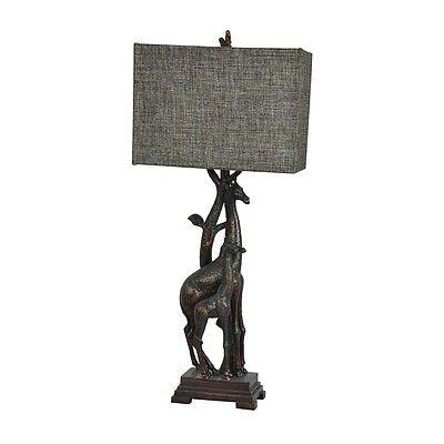 (Giraffe Table Lamp Africa Safari Jungle Wildlife Animal 32.5