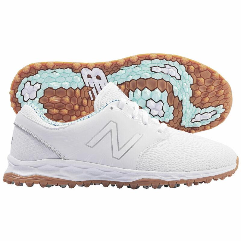 New Balance Ladies Fresh Foam Breathe SL Golf Shoes - White/Blueprint