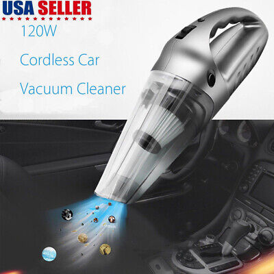 Best Car Vacuum Cleaner 12V Auto Mini Handheld Wet Dry Dirt Small Portable