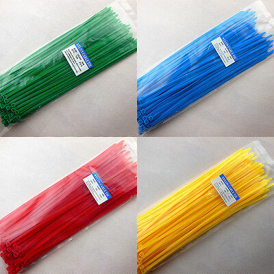 5x300mm Color Chorda Tie Wrap Heat-resistant Self-locking Nylon Cable Tie
