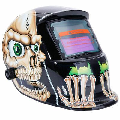 Robot Solar Auto Darkening Welding Helmet Arc Tig Mig Mask Grinding Welder