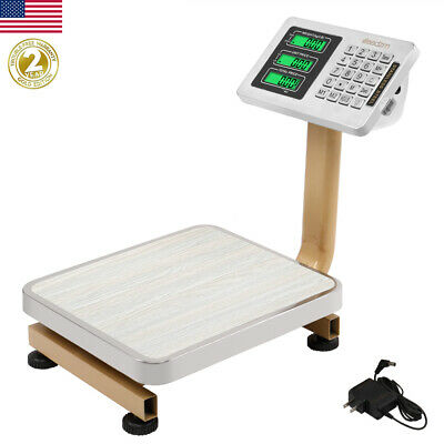 80kg176lbs Weight Computer Scale Digital Floor Platform Shipping Postal Mailing