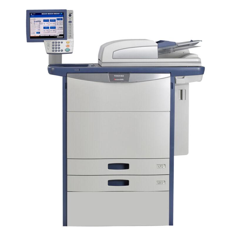 Toshiba E-studio 6540c A3 Color Laser Copier Printer Scanner Mfp 65 Ppm 5540c