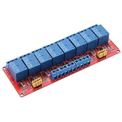 5v12v24v 8 Channel Optocoupler Relay Module Board With Highlow And Trigger