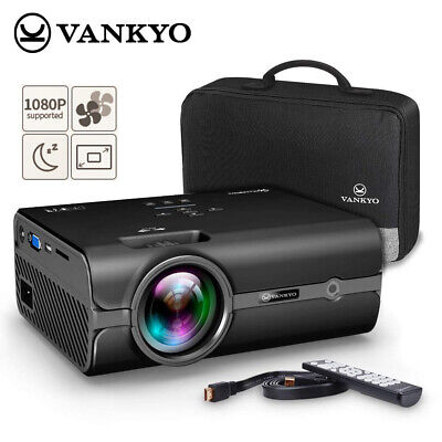 VANKYO 1080P LED 3600Lux HDMI Portable Projector Compatible with PS3/PS4 X-box