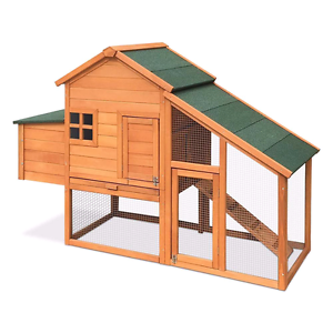 ❤RABBIT HUTCH CHICKEN COOP171CM LONG GUINEA PIG HUTCH Londonderry Penrith Area Preview