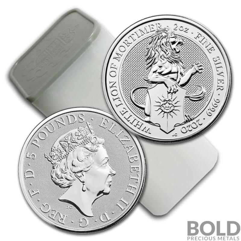 2020 Silver Britain Queen