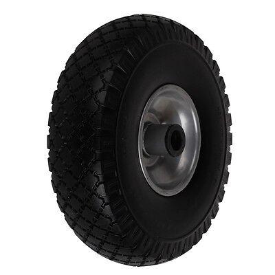 PU Rad 260x85mm Sackkarrenrad Reifen Vollgummi 3.00-4 Nadellager Stahlfelge