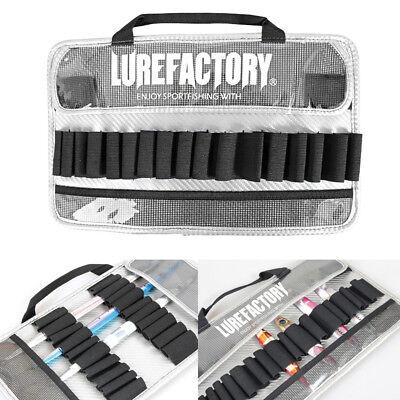 LUREFAC Both Sides Metal Jig Bag Vertical Jigging Bait Case Holder Portable Bags