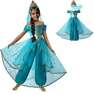 Mädchen Jasmin Kostüm Prinzessin Dress Up Für Kinder - Dress Up Kostüme Für Halloween