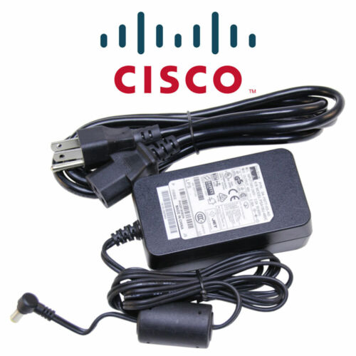 NEW OEM Genuine AC Adapter Power Cisco Poe for IP Phones 7940 with Cord