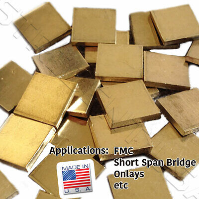 Dental Lab Non Precious Gold Alloy 1 Oz Of Ingot Made In Usa
