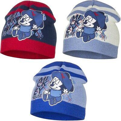 Mickey Mouse Jungen Baby Mütze  Größe 48 50