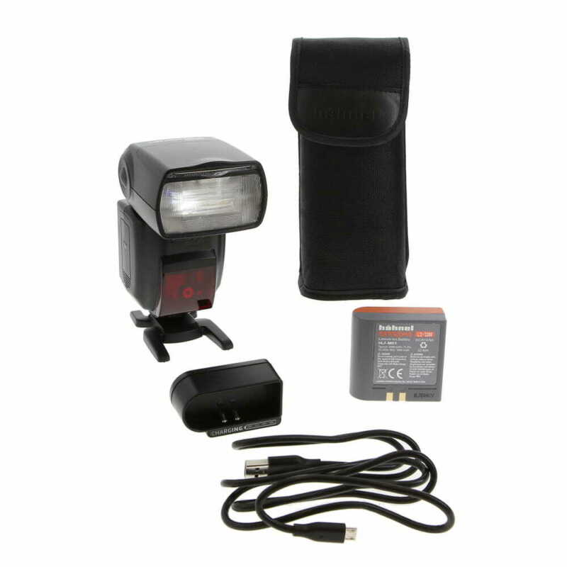 Hahnel Modus 600RT MK II Speedlight For Nikon Cameras with Case & More - EP