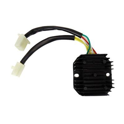 150cc Rectifier Voltage Regulator for 11 Poles Stator GY6 4 Stroke Moped Scooter