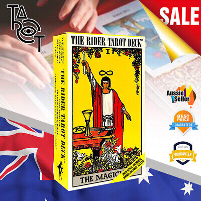 OZ The Rider Waite Tarot Deck Cards Best Tarot for Beginners By Arthur E. Waite