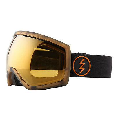NEW Electric EG2 Tort Tortoise Bronze Mirror mens oversized goggles Msrp$130