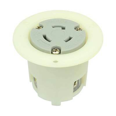 Twist Lock Flange Receptacle 3 Wire 20 Amps 125v Nema L5-20r - Ygf036f