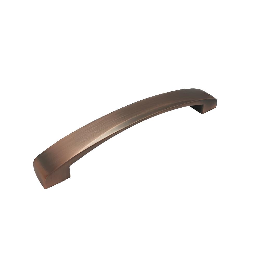Spoleto 160mm Hole Centres Matte Copper Strap Bow Cabinet Furniture Handle
