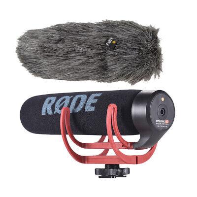 RODE VideoMic Go Lightweight Camera Super Cardioid Directional Microphone Mic