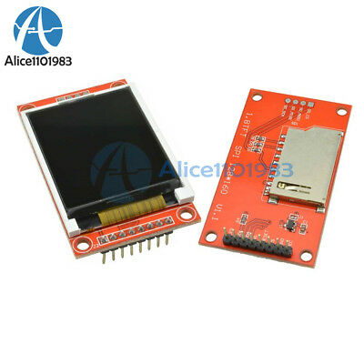 1.8 Inch Lcd Display 128x160 Tft Spi Sd Card Module Avr Pic Arm Stm32 St7735