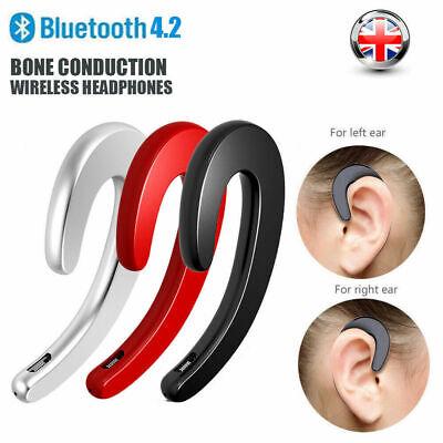 BONE CONDUCTION WIRELESS BLUETOOTH HEADPHONES EARPODS SPORTS EARBUDS EARPHONE UK