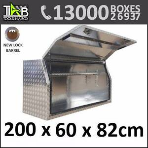 Aluminium Toolbox Full Side Opening Ute Trailer Truck Storage Too Sydney City Inner Sydney Preview