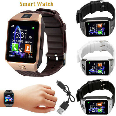Best DZ09 Bluetooth Smart Watch Phone Camera SIM Card Slot For Android IOS Phone