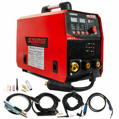 Mig Welder Mma Tig Arc 3in1 110v220v Gas Wire Portable 200a Welding Machine