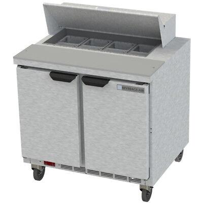 Beverage Air Spe36hc-08 36 Refrigerated Sandwich Salad Prep Table