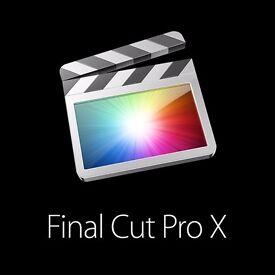 Final Cut Pro X for Apple Macbook / Imac