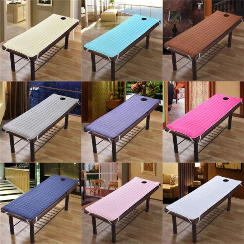 Ultra Soft Massage Table Bed Pads Multi-colors Beauty Salon
