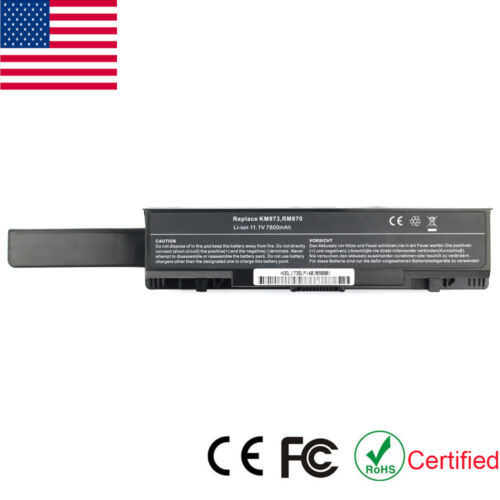 9 Cell Battery For Dell Studio 17 1735 1736 1737 Rm791 Km...