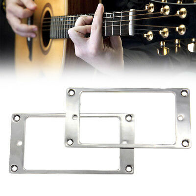 Chorme Pickup Mounting Ring Flat Humbucker Pickup Frame For Electric Guitar (Best Electric Guitar Pickups)