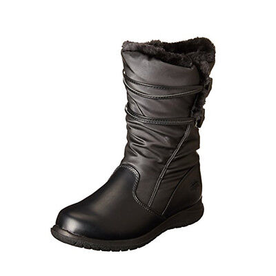 af4fe1fa44d NEW Womens Totes Winter Judy Snow Boots Black Size 6 M Waterproof Thermolite
